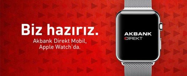 Akbank Direkt, Apple Watch'ta yerini aldı