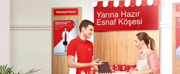Vodafone'dan Yarına Hazır Esnaf Köşesi