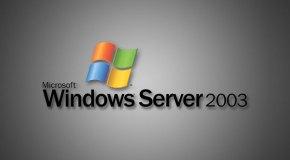 Windows Server 2003 emekliye ayrılıyor