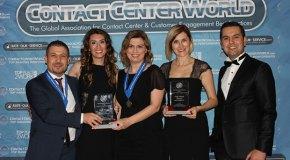 Turkcell Global Bilgi'ye iki birincilik ödülü