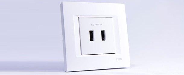 Viko'dan yeni modüler USB priz