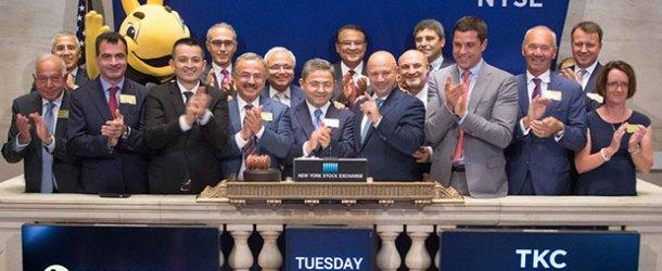 New York Borsası'nda gong Turkcell için çaldı