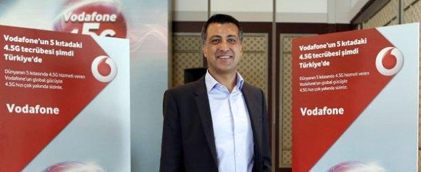 Vodafone, mobil gelir pazar payını yüzde 35,9'a çıkardı