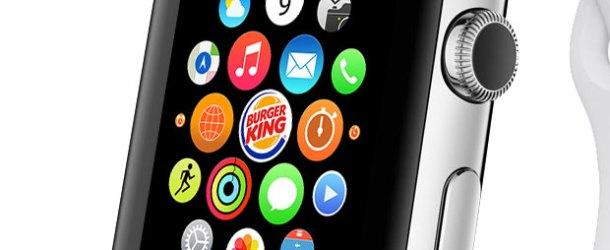 Burger King'de 'Apple Watch'tan sipariş dönemi