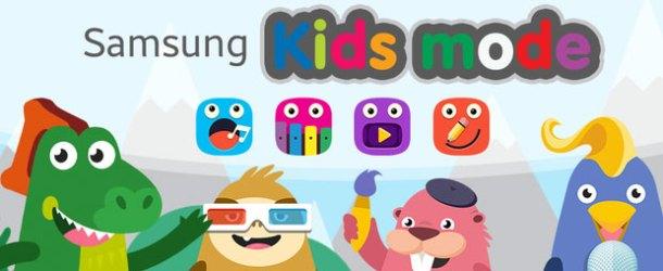 Samsung'un Kids Mode (Çocuk Modu) ile kontrol ailede