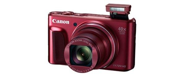 Canon'dan en ince süperzumlu makine: PowerShot SX720 HS