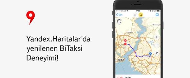 Yandex.Haritalar'a son dönemin en kapsamlı güncellemesi