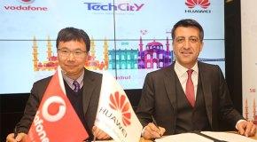 Vodafone ve Huawei İstanbul'u teknoloji şehri seçti