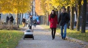 Otonom robotlar paket servise çıkıyor