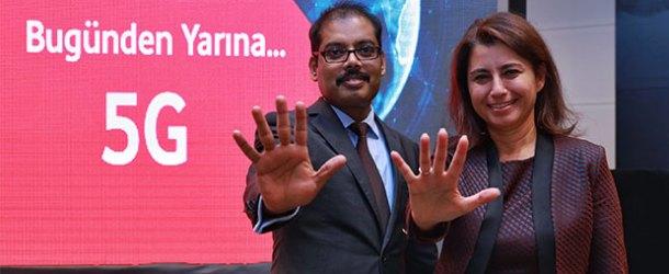 Vodafone'dan 5G'ye 5 aşamalı hazırlık