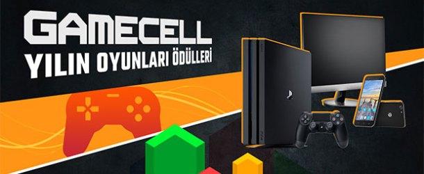 Yılın en iyi oyunları Gamecell'le belirleniyor
