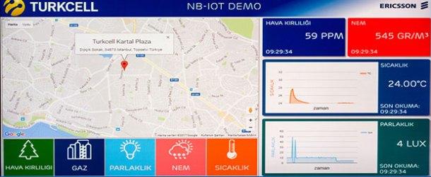Turkcell sensörlerle akıllı şehirlere değer katacak