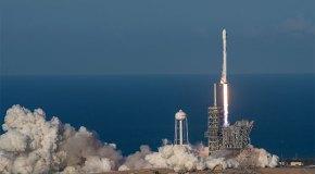 SES-10, SpaceX'in Falcon 9 roketiyle fırlatıldı