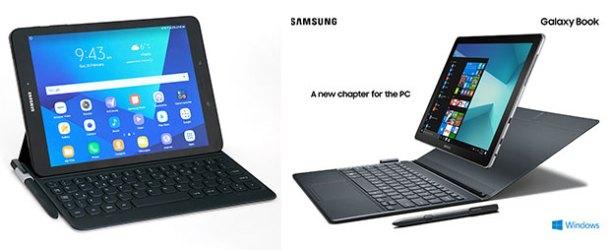 Samsung Galaxy Tab S3 ve Galaxy Book Türkiye'de
