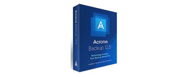 Yeni Acronis Backup 12.5 fidye yazılımlarına karşı
