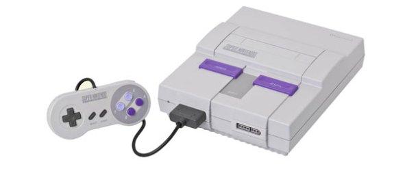 Nintendo SNES oyun konsolu yeniden