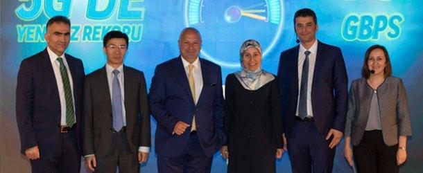 Turkcell 5G testinde 70 Gbps hıza ulaştı