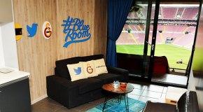 Twitter'ın 'Blue Room'u Galatasaray ile Türkiye'de