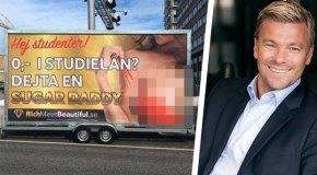 Üniversite karşısında reklâm yapan çöpçatan sitesine yasak
