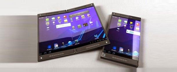Samsung katlanabilir telefonla mı gelecek?