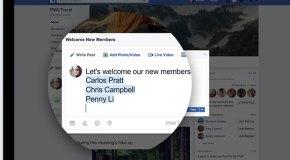 Facebook Gruplar'a yeni özellikler geldi