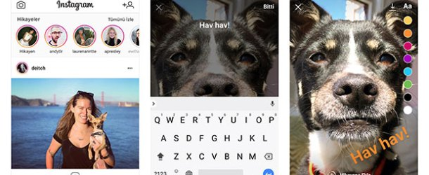 Instagram'a web'den fotoğraf ve hikâye göndermek mümkün