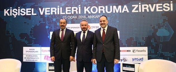 Kişisel Verileri Koruma Zirvesi Ankara'da toplandı