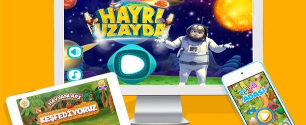 TRT Çocuk oyunları 28 milyon kez indirildi