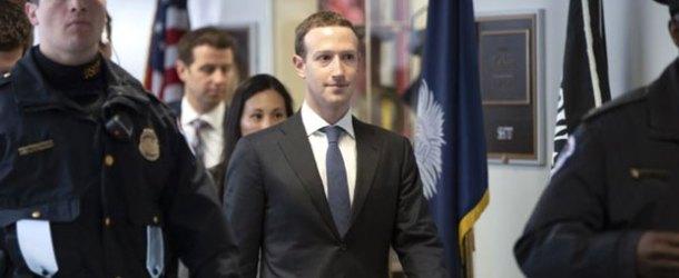 Zuckerberg Amerikan Kongre'sinde özeleştiri yaptı