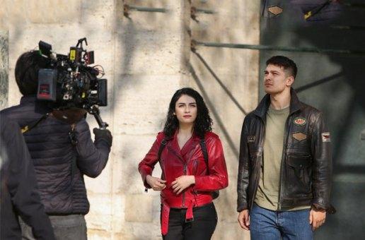 Netflix'in ilk Türk dizisi 'The Protector' Roma'da tanıtıldı