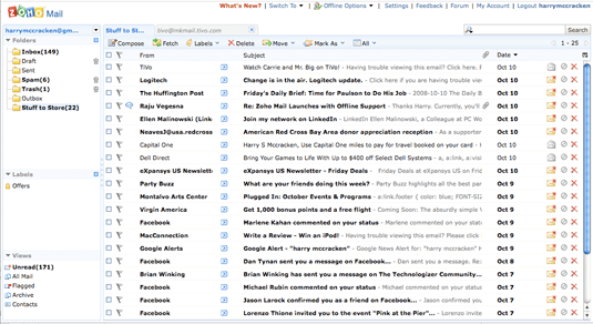Zoho mail a flexible but imperfect new take on webmail and stopboris Gallery