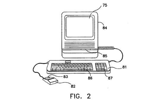 Apple Patents Original Mac