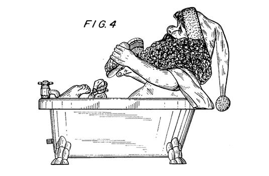 santa-tub