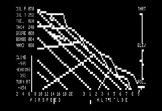 SubLOGIC Flight Simulator for TRS-80