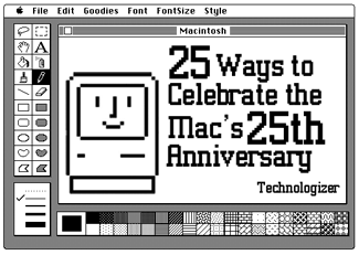 25th anniversary of the Mac