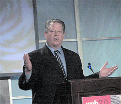 Al Gore at Web 2.0 Expo