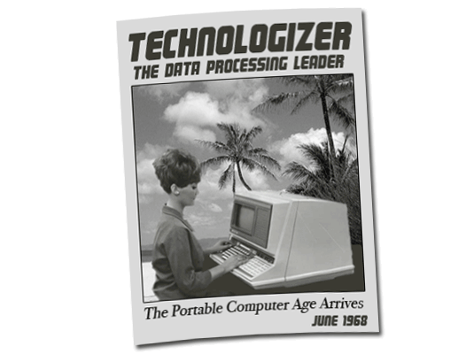 Technologizer June 1968 Cover