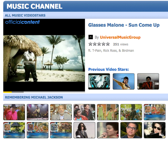 Dailymotion HTML 5 Video