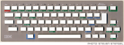 IBM PCjr Keyboard Layout