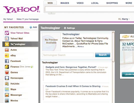 Yahoo Technologizer