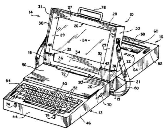 Three-layered computer