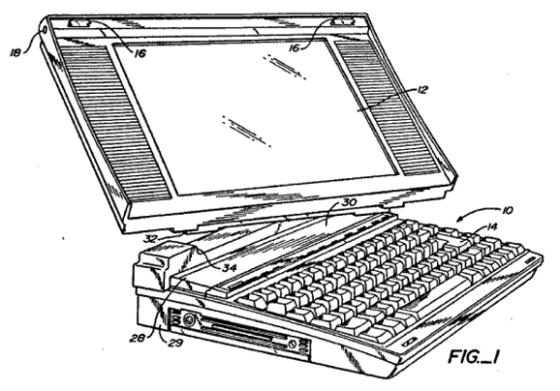 Laptop with swivel screen