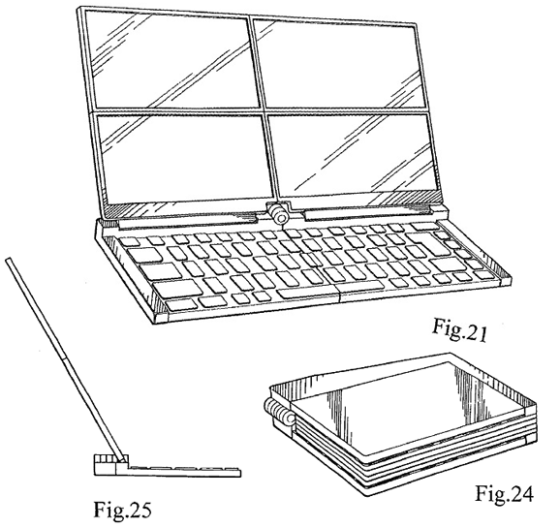 Folding computer