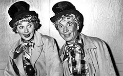 Lucy and Harpo