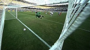England's discounted goal against Germany in the 2010 South African World Cup