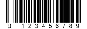A Random Classic Barcode