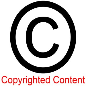 The Copyright Logo - Copyrighted Content