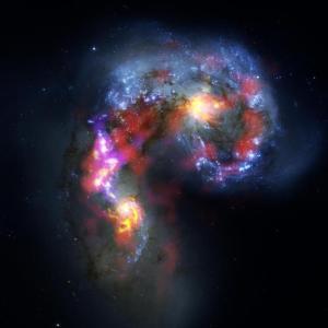 ALMA Telescope deep space picture