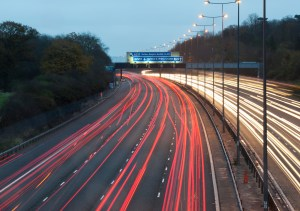UK motorway night-times