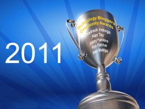 Winners of Technology Bloggers Community Awards - 2011
